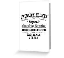 Sherlock Holmes Expert Greeting Card