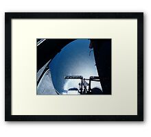 Hovering over Lake Taupo, North Island , New Zealand Framed Print