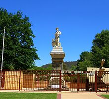 Lest We Forget, Queen Elizabeth Park - Lithgow by ©Josephine Caruana