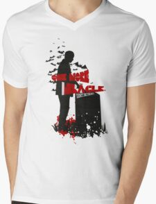 One More Miracle Mens V-Neck T-Shirt