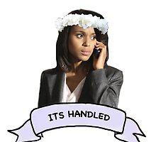 """Its handled"" Olivia Pope by helloiceberg"