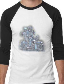 Harley Davidson WL Men's Baseball ¾ T-Shirt