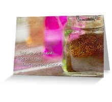 Sunshine and Spice Greeting Card