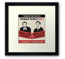 War of the wells Framed Print
