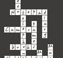 Crossword - iPhone Case by Bryan Freeman