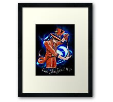Can You Feel It? Framed Print