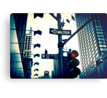 52nd Street - NYC Metal Print