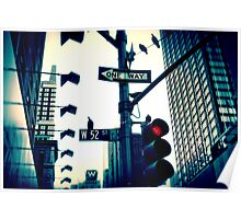 52nd Street - NYC Poster