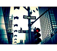 52nd Street - NYC Photographic Print