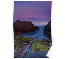 Sunset Canyon, Fingal Bay Poster
