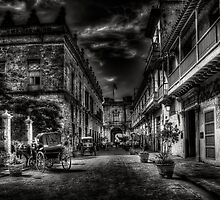 Old Havana in black & white by Erik Brede