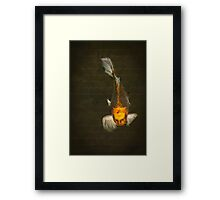The Old Man in The Sea Framed Print