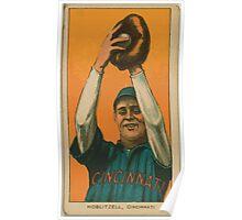 Benjamin K Edwards Collection Dick Hoblitzell Cincinnati Reds baseball card portrait 002 Poster