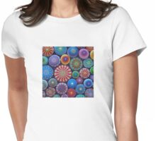 Mandala Stone Collection #3 Womens Fitted T-Shirt