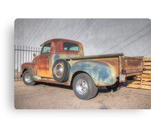 Rusty 49 Canvas Print