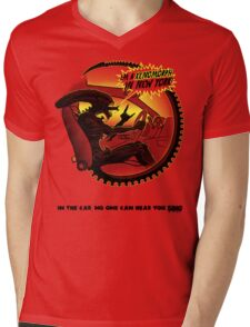 In the car no one can hear you sing. Mens V-Neck T-Shirt