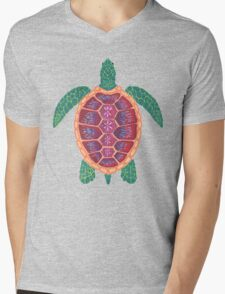 Sea Turtle Mens V-Neck T-Shirt