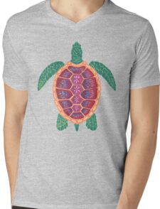Sea Turtle Mens V-Neck T-Shirt