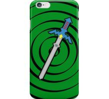 8-Bit Master Sword iPhone Case/Skin