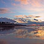 Sunrise reflections by Christian Williams