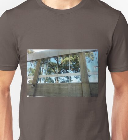 *Reflections in Wyndham City Town Hall Windows* Unisex T-Shirt