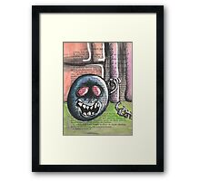 Ball and Chain Framed Print