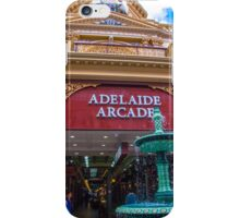 The arcade and fountain iPhone Case/Skin