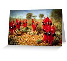 Sturt Desert Pea  Greeting Card