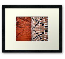 brick Framed Print