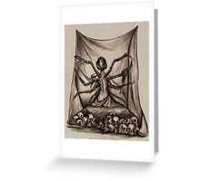 The Weaver Greeting Card