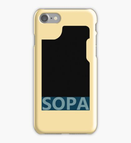 SOPA iphone case iPhone Case/Skin