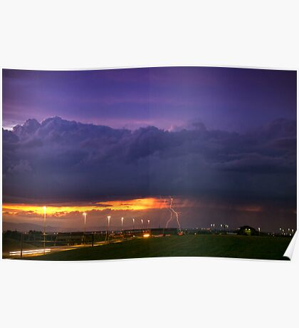 Sunset Strike Poster