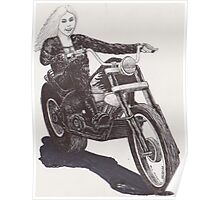 Motorcycle Mama Poster