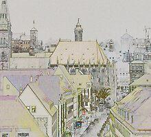 Nuremberg, Germany. by David A. L. Davies