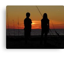 Farewell To The Day ~ Part Nineteen Canvas Print