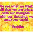 Buddha Quote by Dooda Creations