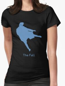 The Reichenbach Fall Womens Fitted T-Shirt