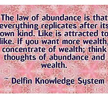 Delfin Knowledge System Quote by Dooda Creations