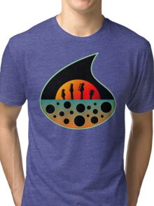 Vintage Space Rock  Tri-blend T-Shirt