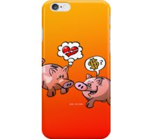 Money or Love? iPhone Case/Skin