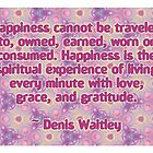 Denis Waitley Quote by Dooda Creations