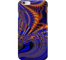 Blue and Orange Fractal iphone case  iPhone Case/Skin