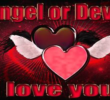 Angel or Devil by tapiona