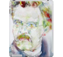 FRIEDRICH NIETZSCHE watercolor portrait.6 iPad Case/Skin