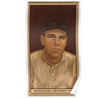 Benjamin K Edwards Collection Fred Snodgrass New York Giants baseball card portrait 002 Poster