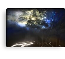 Road to Hell Series: You promised You'd Wait for me Canvas Print