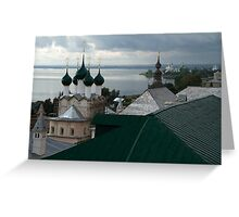 Rostov the Great, Russia. Greeting Card