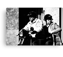 The Taxi ... Canvas Print