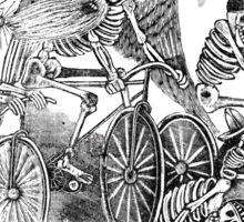 Muertas Bicicleta - Posada's Cycling Dead Sticker