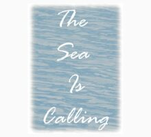 The Sea Is Calling - Sea Blue One Piece - Short Sleeve